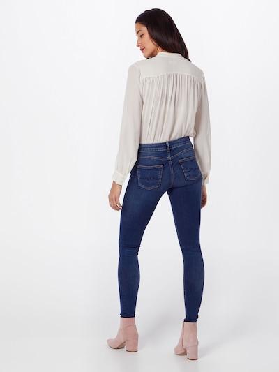 Pepe Jeans Skinny 'Pixie' in blue denim: Rückansicht