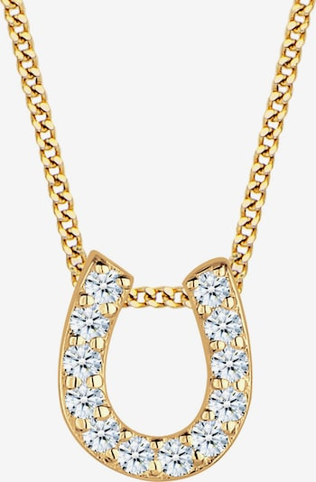 Diamore Kette in gold / weiß, Produktansicht