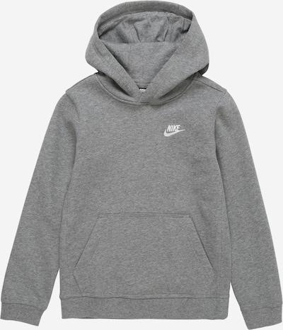 Nike Sportswear Sweatshirt in grau / weiß, Produktansicht