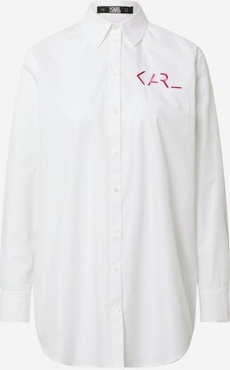 Karl Lagerfeld Chemisier en gris / blanc, Vue avec produit