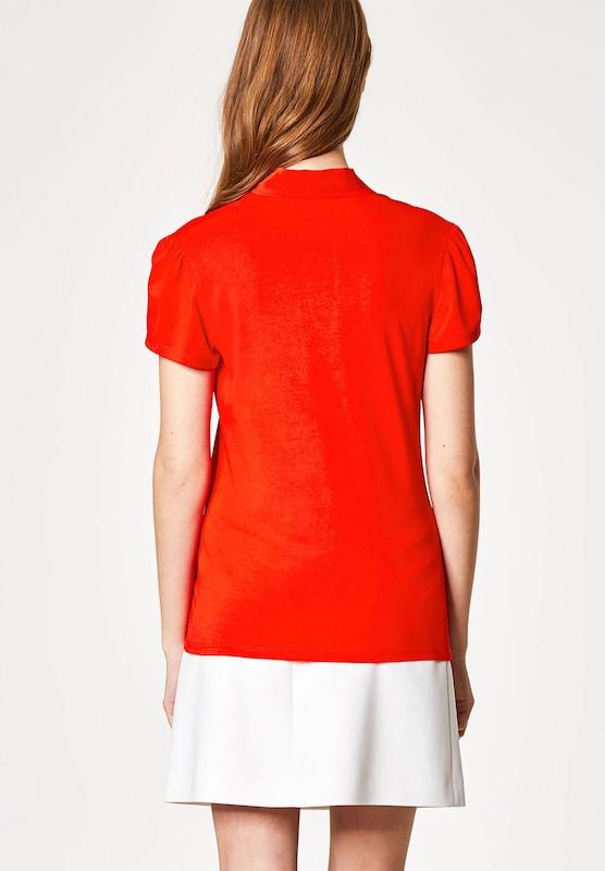 HALLHUBER T-Shirt mit Seidenschluppe