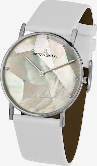 Jacques Lemans Uhr 'York, 1-2050B' in weiß, Produktansicht