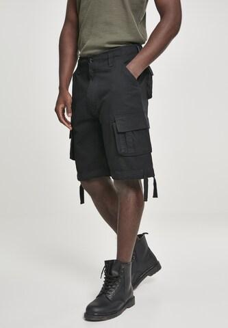 Brandit Klapptaskutega püksid, värv must