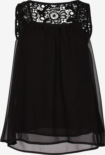 DREIMASTER Top in schwarz, Produktansicht