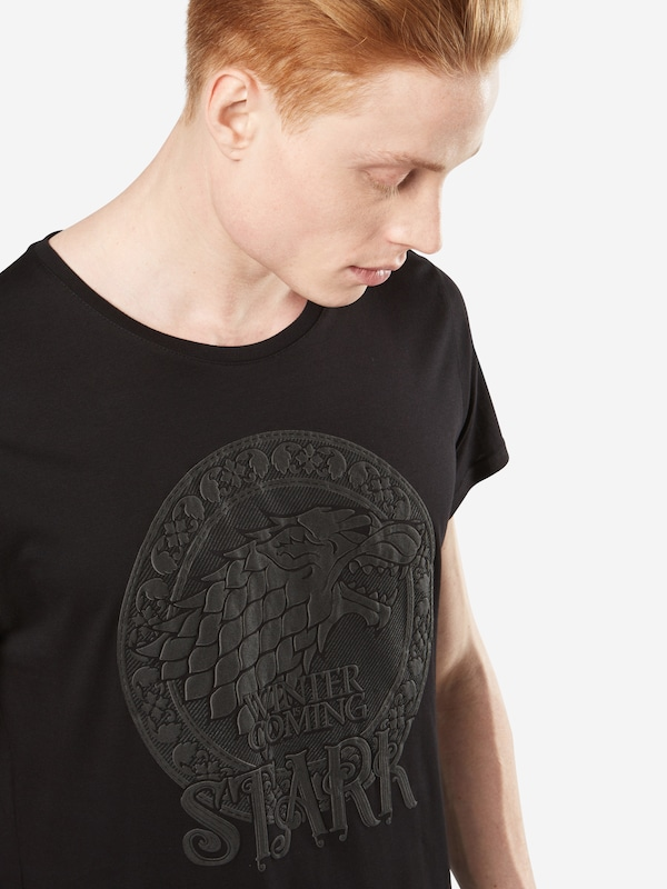 GOZOO Shirt Game of Thrones 'THE LONG NIGHT - HOUSE STARK - GAME OF THRONES'