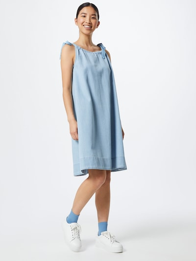 SELECTED FEMME Kleid 'NOVO' in blau, Modelansicht