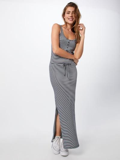 OBJECT Jerseykleid 'stephanie' in dunkelblau / weiß, Modelansicht