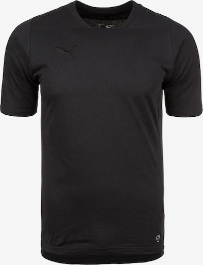 PUMA Functioneel shirt 'Final Casuals' in de kleur Zwart, Productweergave