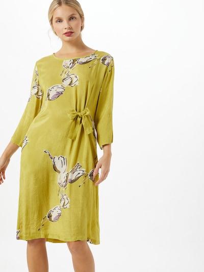 Masai Kleid 'Nonie' in senf / mischfarben, Modelansicht