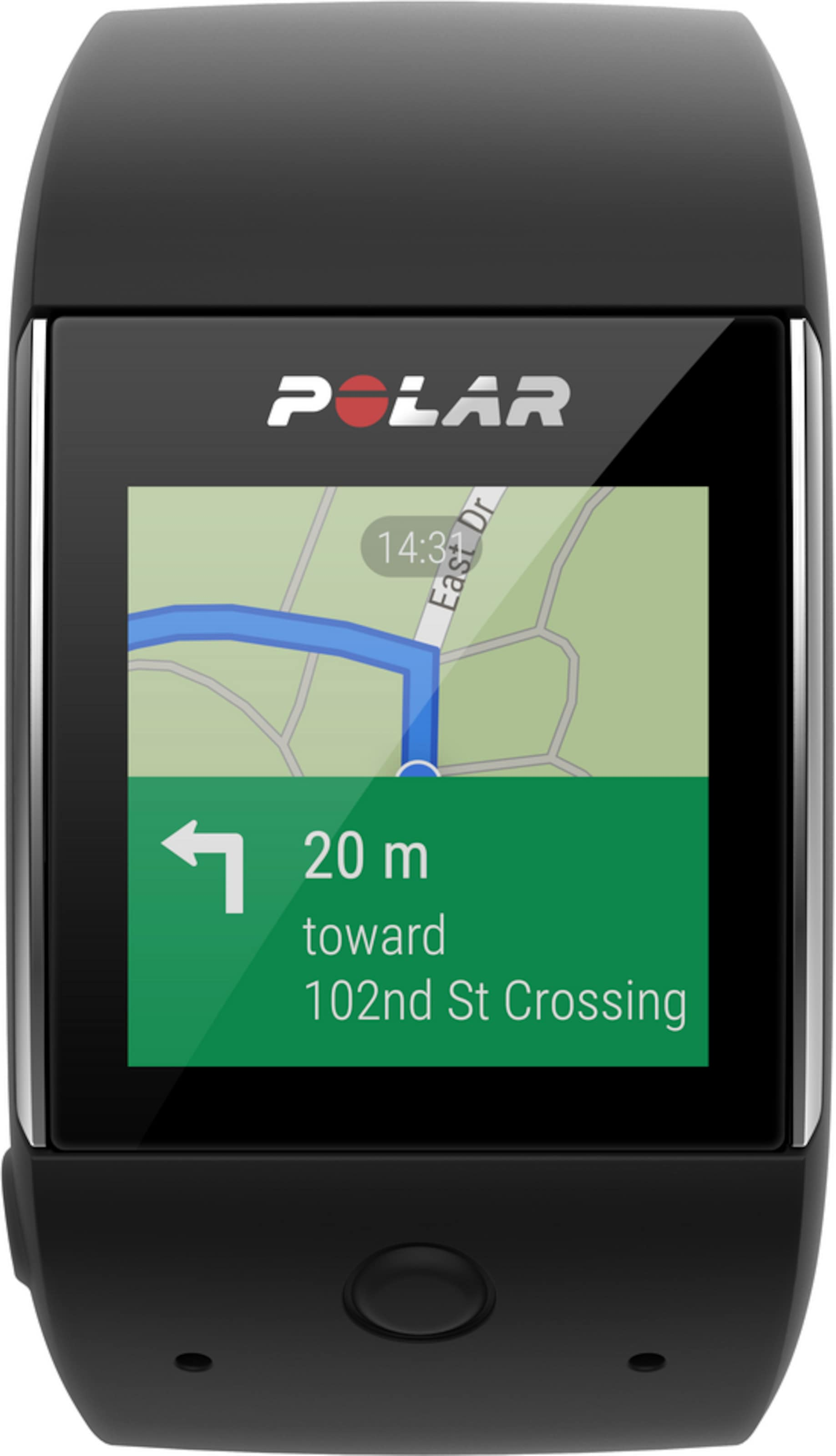 POLAR Smartwatch mit Pulsuhr 'M600' 100% Authentisch Günstiger Preis raJi5Z