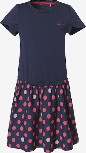 ESPRIT Kleid in dunkelblau / pink, Produktansicht