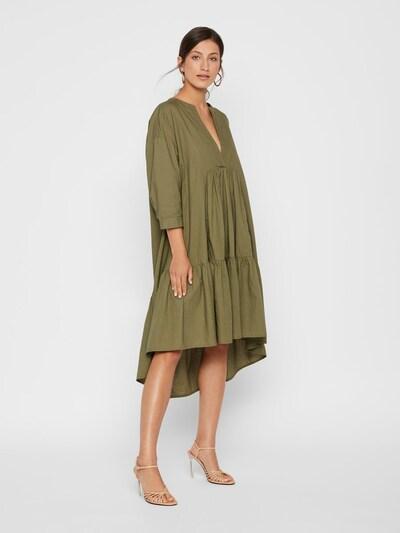 Y.A.S Kleid in oliv: Frontalansicht