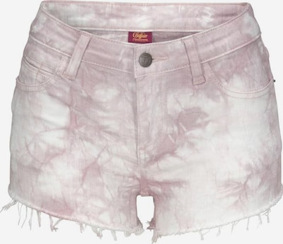 BUFFALO Hotpants in flieder / weiß, Produktansicht