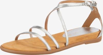 UNISA Cirila Klassische Sandalen in silber, Produktansicht