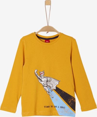 s.Oliver Shirt in gelb / mischfarben, Produktansicht