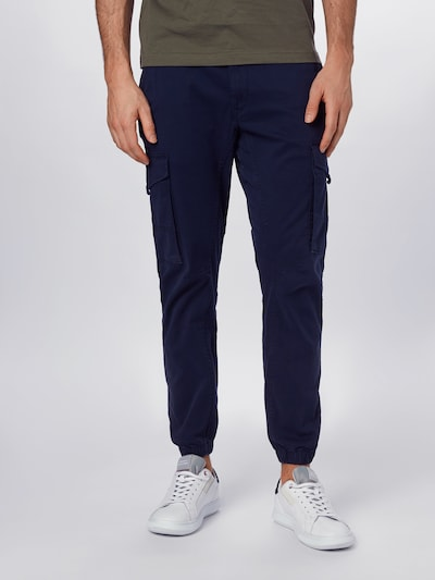JACK & JONES Hose in blau, Modelansicht