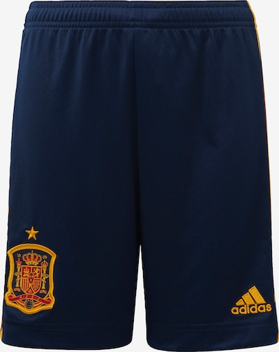 ADIDAS PERFORMANCE Sportbroek in de kleur Navy / Goudgeel, Productweergave