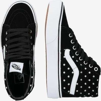 VANS Sneaker 'UA SK8-Hi Platform 2.0' in schwarz / weiß: Seitenansicht