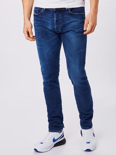 DIESEL Jeans 'TEPPHAR-X' in blue denim, Modelansicht