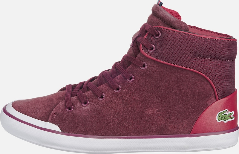 LACOSTE Schuhe | 'Lancelle' Hi Top Stiefeletten Schuhe Gut getragene Schuhe LACOSTE 4337eb