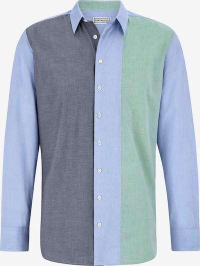Shirtmaster Overhemd ' Frombluetogreen ' in de kleur Blauw / Mintgroen, Productweergave
