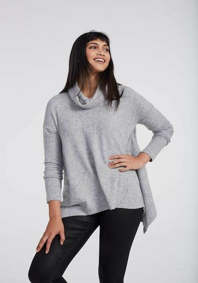 Long Tall Sally Pullover für große Frauen in grau, Modelansicht