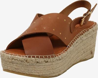 Sandalai 'Naya 25' iš MACARENA , spalva - smėlio / ruda (konjako), Prekių apžvalga