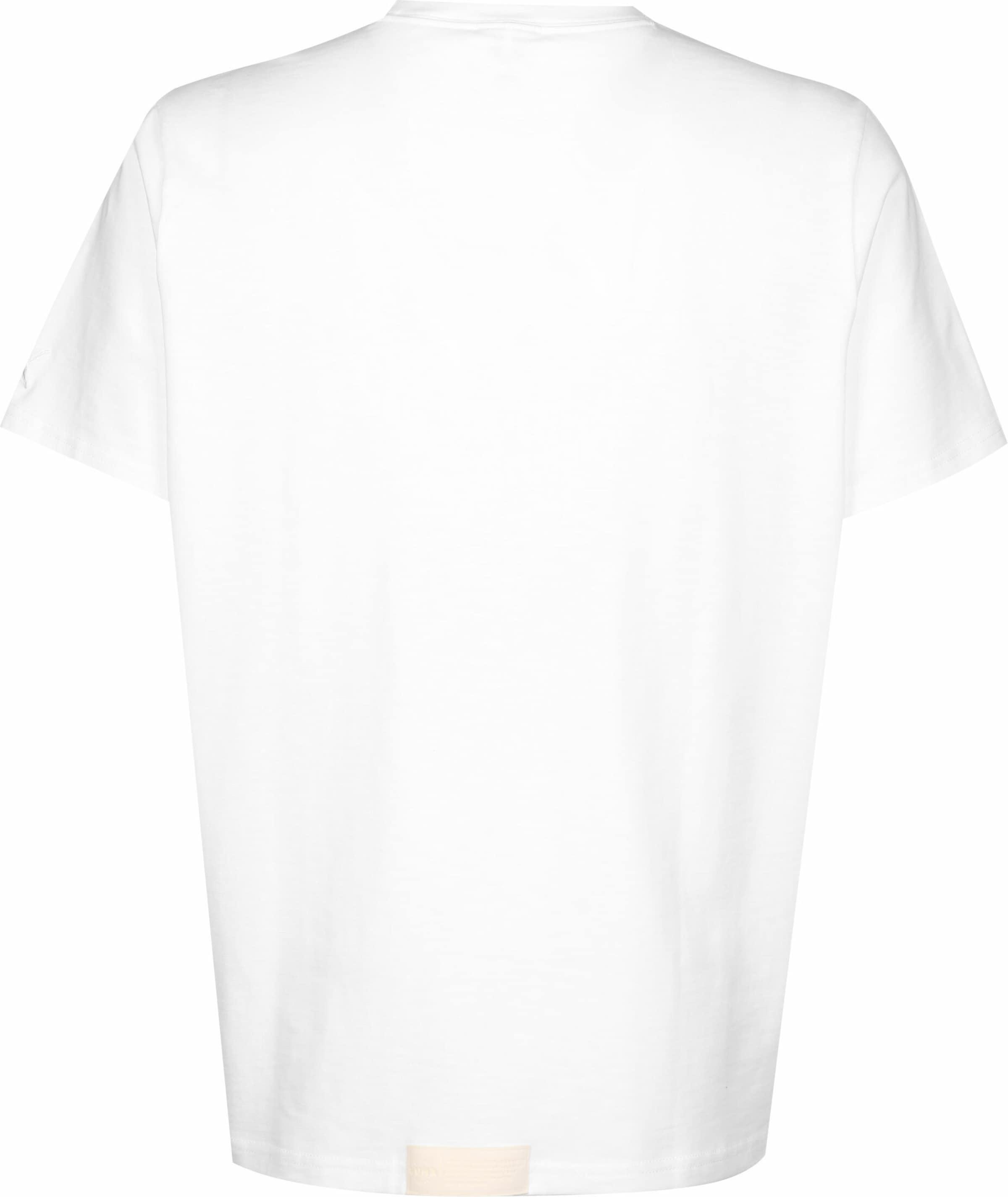 PUMA T-Shirt ' Pull up ' in weiß Baumwolle KT391093021