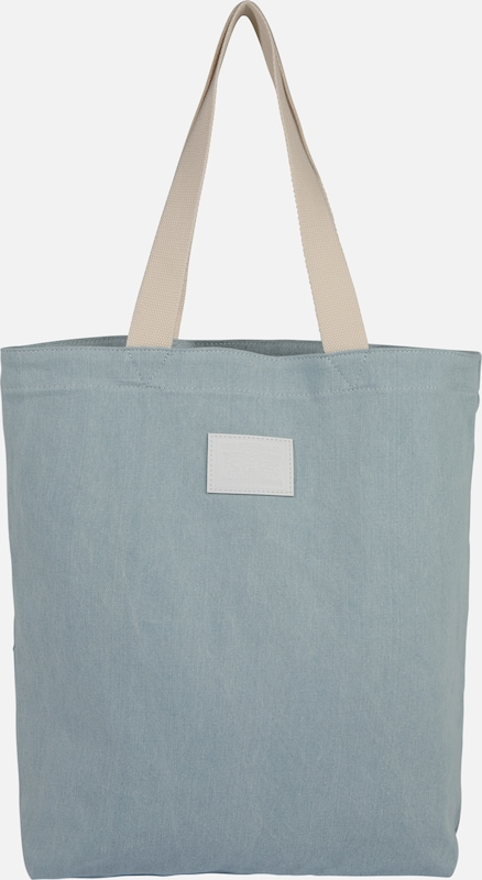LEVI'S Shopper 'Festival Tote Iced Denim' in blue denim, Produktansicht