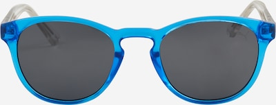PUMA Sonnenbrille 'PJ0025S Sunglass KID INJECTION' in blau / silber, Produktansicht
