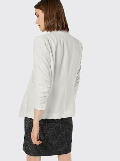 VILA Blazer mit Dreiviertelärmeln 'Viher' in weiß: Rückansicht