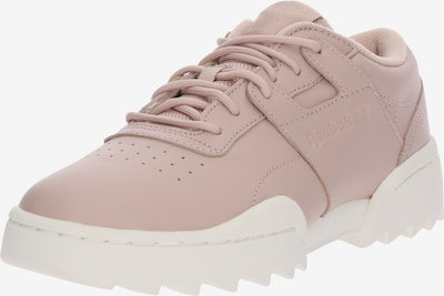 Reebok Classic Sneaker 'WORKOUT RIPPLE OG' in rosé / weiß: Frontalansicht