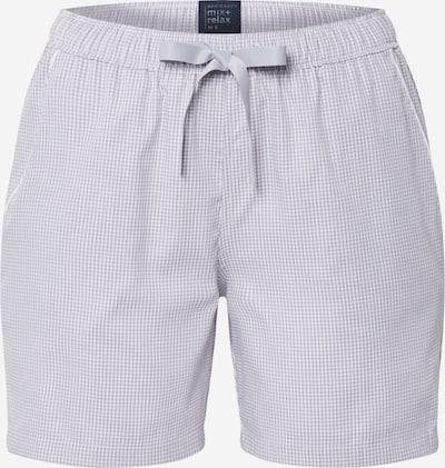 SCHIESSER Pantalon de pyjama en gris clair, Vue avec produit