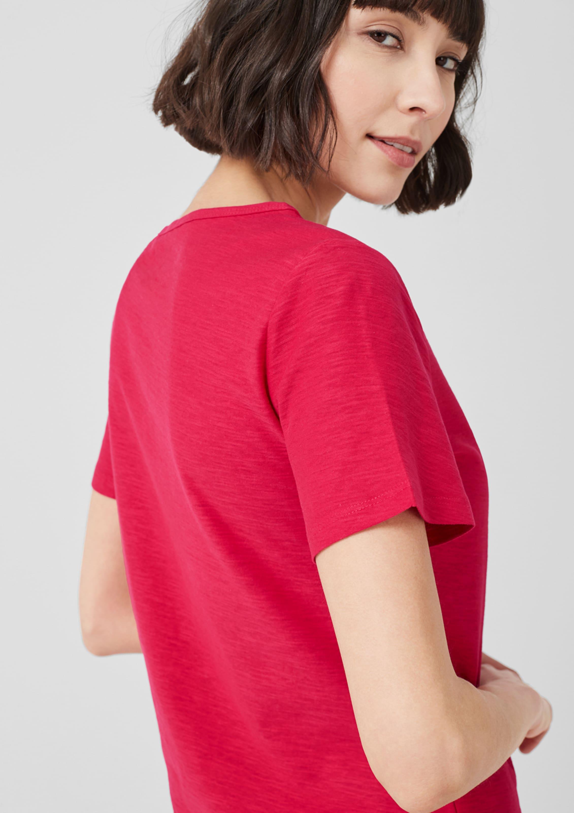 Shirt In Red Pitaya S Label oliver 9YEDIH2W