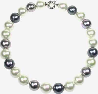 Orquidea Perlenkette 'Camilla' in grau / schwarz / weiß, Produktansicht