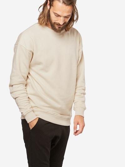Urban Classics Sweatshirt in creme: Frontalansicht