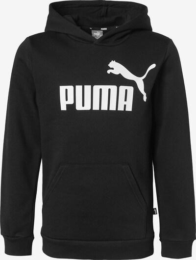 PUMA Hoodie in schwarz / weiß, Produktansicht