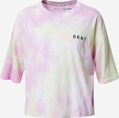 DKNY Performance T-shirt 'MULTI TIE DYE' en menthe / rose, Vue avec produit