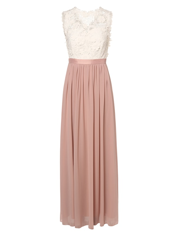 Marie Lund Abendkleid In Pink Weiss About You
