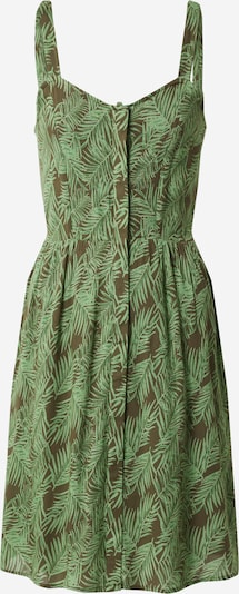 Noisy may Poletna obleka 'NMFLORA' | zelena / bela barva, Prikaz izdelka
