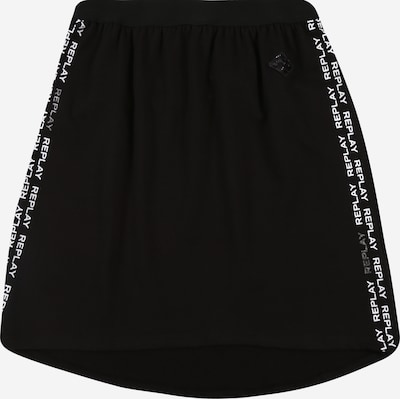 REPLAY Rok in de kleur Zwart / Wit, Productweergave