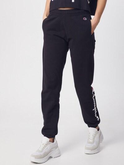 Pantaloni Champion Authentic Athletic Apparel pe negru, Vizualizare model