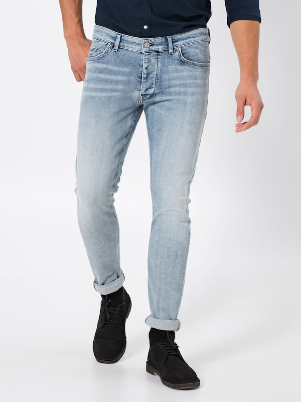 DRYKORN Jeans 'Jaz' in blue denim, Modelansicht