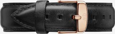 Daniel Wellington Lederband in schwarz, Produktansicht