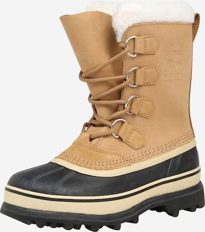 SOREL Čizme za snijeg 'Caribou' u marelica / crna, Pregled proizvoda
