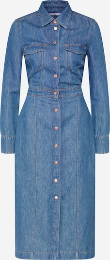 7 for all mankind Jurk 'LUXE' in de kleur Blauw denim, Productweergave