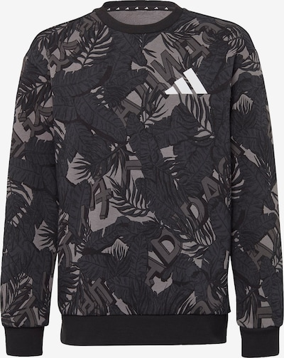 ADIDAS PERFORMANCE Sweatshirt in grau / dunkelgrau / schwarz, Produktansicht