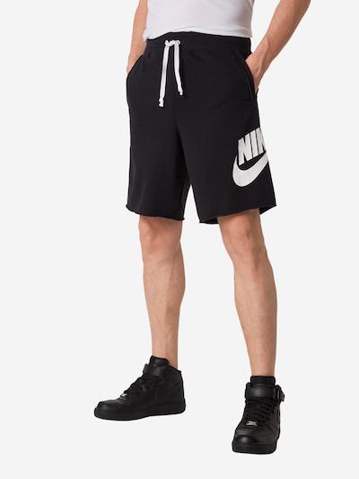 Nike Sportswear Bikses melns / balts, Modeļa skats