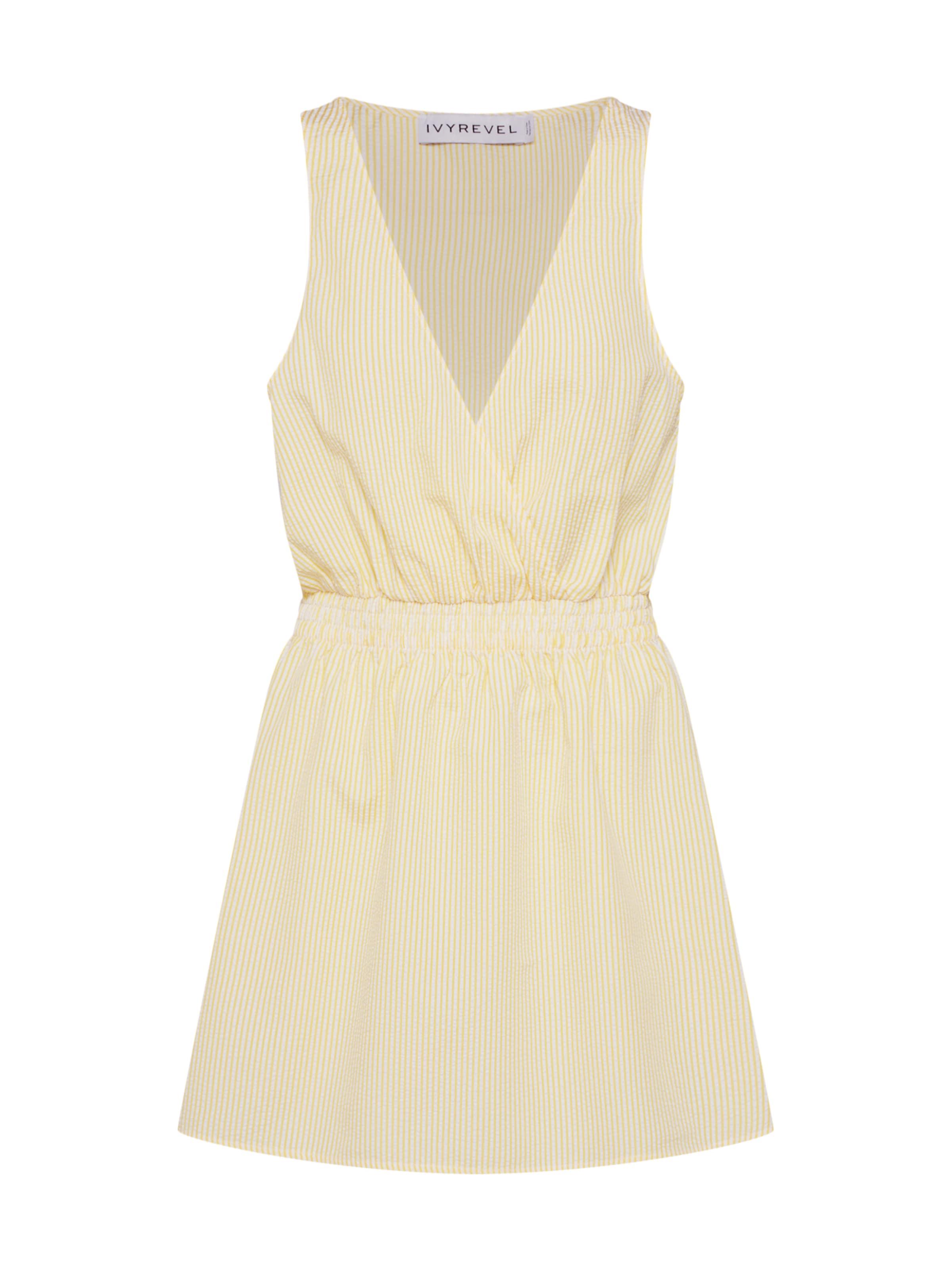 Mini Dress' Kleid 'wrap In Ivyrevel Gelb H9IE2D
