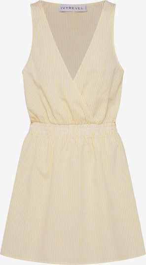 IVYREVEL Dress 'WRAP MINI DRESS' in yellow, Item view